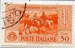 Italie - Italy - Italien 1932 Y&T N°295 à 301 - Michel N°391 à 397 (o) - Garibaldi - 1900-44 Victor Emmanuel III