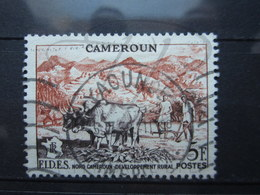 "VEND BEAU TIMBRE DU CAMEROUN N° 300 , OBLITERATION "" YAOUNDE "" !!! - Cameroun (1915-1959)"