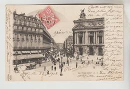 CPA PIONNIERE PARIS 9° ARRONDISSEMENT - La Rue Auber - Paris (09)