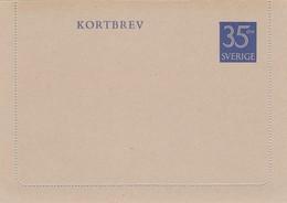 SWEDEN 1962  Kortbrev41 New - Interi Postali