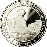 France, Médaille, Michelet, Historien, FDC, Argent - France