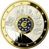 France, Médaille, Géants Euro, Dénomination, 1995, FDC, Copper Gilt - France