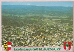 Austria Klagenfurt Aerial View Postcard Unused Good Condition - Unclassified
