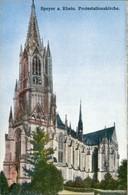 Speyer Gedächtniskirche Der Protestation, Kirche, Church Postcard 1910 - Speyer