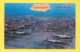 Flughafen ֎ AIRPORT ֎ AEROPORT ֎  Aérogare LONDON LONDRES  Aéroport  ֎ 1968 - Aerodromi
