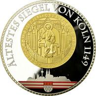 Allemagne, Médaille, Cologne, 2012, FDC, Cuivre Plaqué Argent - Allemagne