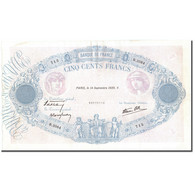 France, 500 Francs, Bleu Et Rose, 1939, 1939-09-14, TTB+, Fayette:31.39, KM:88c - 1871-1952 Antichi Franchi Circolanti Nel XX Secolo