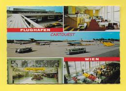 Flughafen ֎ AIRPORT ֎ AEROPORT ֎  Aérogare FLUGHAFEN WIEN  Aéroport  ֎ 1986 - Aerodromi