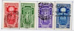 Italie - Italy - Italien 1933 Y&T N°325 à 328 - Michel N°452 à 455 (o) - Année Sainte - Gebraucht