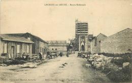 LA CROIX SUR MEUSE. - Route Nationale. - Francia