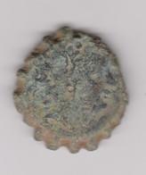 Bronze Dentelé D'Antiochos VI - Greche
