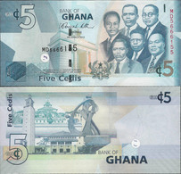 Ghana 2010 - 5 Cedis - Pick 38 UNC - Ghana