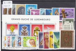 Luxembourg 1985. Année Complète (B.2397) - Années Complètes