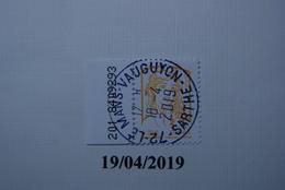 FRANCE 2014   YTN° MARIANNE 0.01€    TN Oblitéré Cachet Rond  Numéroté - Used Stamps