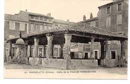 - CPA PIERRELATTE (26) - Halle De La Place De L'Hôtel-de-Ville - Editions J. Brun N° 18 - - Altri Comuni