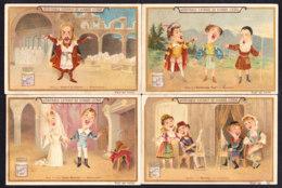 LOT De 8 CHROMOS LIEBIG Themes Opera Meyerbeer Rossine Flotow Donizetti Bojeldieu Tannhauser - Liebig