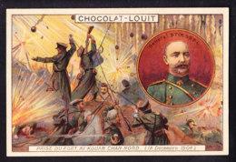 CHROMO Chocolat LOUIT Frères  Guerre Russo Japonaise  General Stoessel Ki Kouan Chan Nord Japan Russia - Louit