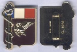 Insigne De La Cellule D'Identification Des Victimes Militaires De Catastrophes - Services Médicaux
