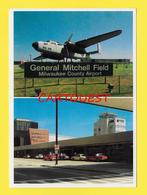 Flughafen ֎ AIRPORT ֎ AEROPORT ֎  Aérogare GENERAL MITCHELL FIELD MILWAUKEE WISCONSIN  Aéroport  ֎ 1986 - Aerodromi