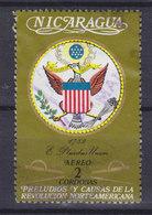 Nicaragua 1973 Mi. 1718   2 Cord Geschichte Der Vereinigten Staaten Von Amerika Adler Wappen - Nicaragua