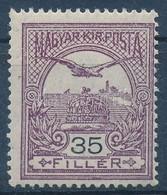 ** 1913 Turul 35f Fekvő Vízjellel  (90.000) - Stamps