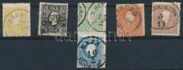 O 1858 Komplett Sor Mind Magyar Bélyegzővel, 2 Féle 3kr (87.600) - Stamps