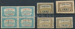 O 1918 Repülő Posta 8 Db Bélyeg (60.000) - Stamps