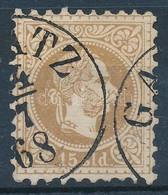 O Magyar Posta Romániában 1867 15sld 'GA(L)ATZ' (44.000) - Stamps