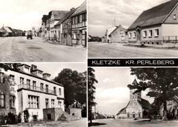 CPSM - KLETZKE KR.PERLEBERG - Vue De La Ville ...(Multivues) - Kletzke