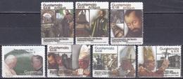Guatemala 2002 Religion Christentum Persönlichkeiten Papst Pope Johannes Paul Pater Pedro De Betancourt, Mi. 1374-0 ** - Guatemala