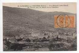 - CPA SAINT-AUBAN-SUR-L'OUVESE (26) - Vue Générale 1924 (côté Ouest) - N° 22 - - France