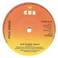 """Paul Simon """"  Slip Slidin' Away  """" - Vinyles"""