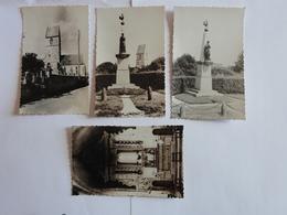 SASSY  (Calvados) Lot De 4 Cp.Eglise.Monument Aux Morts - Autres Communes