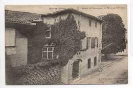 - CPA MORAS (26) - Maison Du Gouverneur De Moras Au XVe Siècle - Photo L. Charvat - - Altri Comuni