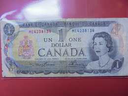 CANADA 1$ 1973 CIRCULER - Kanada