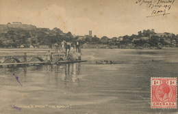 """St Georges Grenada From """" The Spout """" Written From Basse Terre 1917 - Grenada"""