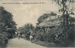 Montserrat B.W.I. West Entrance Botanic Garden  Edit J. Wall - Antilles