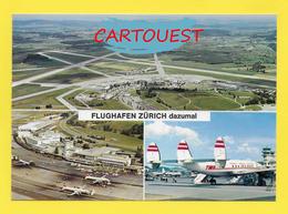 Flughafen ֎ AIRPORT ֎ AEROPORT ֎  Aérogare ZÜRICH Aéroport  ֎ 1989 - Aerodromi
