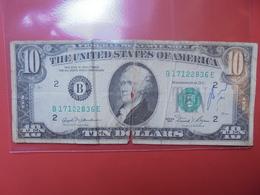 U.S.A 10$ 1981 CIRCULER - Bilglietti Della Riserva Federale (1928-...)