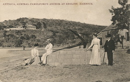 Antigua , Admiral Camelford's Anchor At English Harbour  The West Indian Picture - Antigua & Barbuda