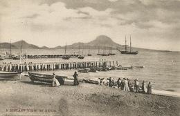 A Distant View Of Nevis  The West Indian Picture - Saint-Christophe-et-Niévès
