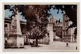 - CPA MARSANNE (26) - La Place - Edition Villeneuve - - Altri Comuni