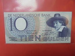 PAYS-BAS 10 GULDEN 1943 PEU CIRCULER - 10 Gulden