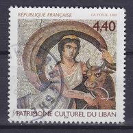 France 1999 Mi. 3366    4.40 Fr. Ausstellung 'Kulturelles Erbe Des Libanon' Mosaik - Frankreich