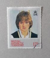 N° 115      Lady Diana - 21 Ans - British Antarctic Territory  (BAT)