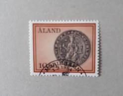 N° 6       Sceau De La Province Et Saint Olaf  -  Oblitéré - Aland