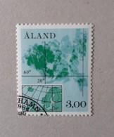 N° 5       Carte D' Aland  -  Oblitéré - Aland
