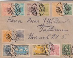 Estonie - Lettre De 1920 - Oblit Nomme - Exp Vers Tallinn - Estonia