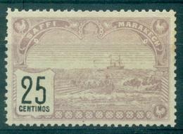MAROC POSTES LOCALES  1899 SAFFI à MARRAKECH Toujours Sans Gomme B/TB Rare Cote : 80 €. - Maroc (1891-1956)
