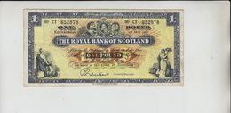 AB257. The Royal Bank Of Scotland £1 Banknote 1st May 1967 #CT652878  FREE UK P+P - Ecosse